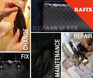 カバン、バック、サイフの修理やリペアはRAFIXにお任せください